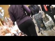 Candid Camera Films Super Hot Girl in Tight Yoga Pants