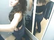 Dressing Room Spy Sexy Girl Filmed