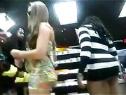 Brazilian Woman with Nice Big Ass Filmed in Public