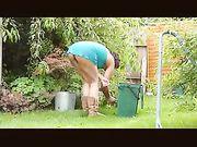 Voyeur Camera Filming Upskirt of Female Neighbor