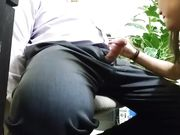 Spycam Office Sex Secretary Blowing Boss Cock Under Desk
