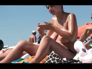 Beach voyeur compilation video with topless women and fuck on beach